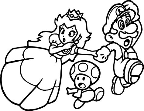 mario mushroom coloring pages 12 pics of super mario princess peach coloring pages for