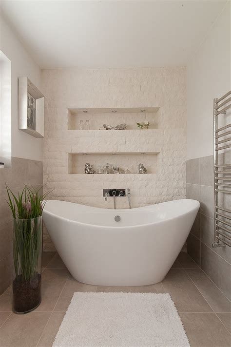 bathtub shower wall 30 exquisite and inspired bathrooms with stone walls