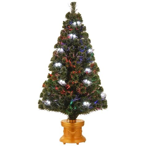 national tree company 4 ft fiber optic double bell