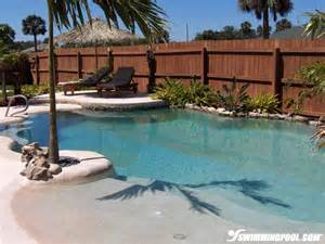 Backyard Pools With Entry Best 25 Walk In Pool Ideas On Pool With