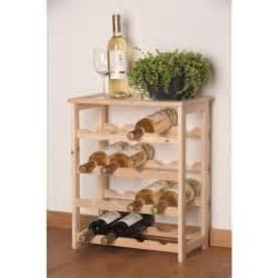 meuble bouteille de vin casier 16 bouteilles de vin en bois achat vente meuble