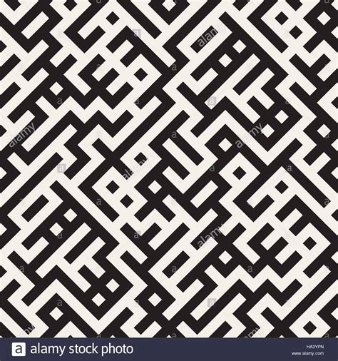 irregular pattern photography vector seamless black and white irregular maze grid