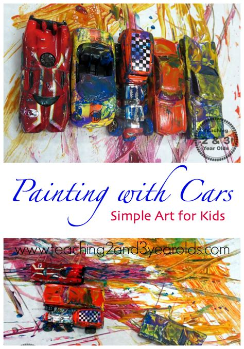 painting for 2 year olds transportation for preschool teaching 2 and 3 year olds