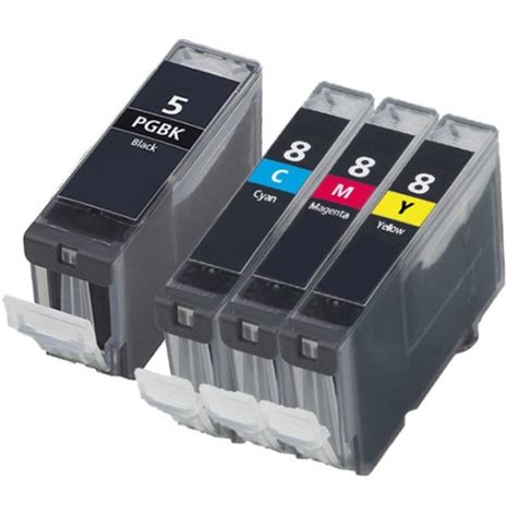 lexmark 5 dollar black ink canon pgi 5bk cli 8 ink cartridges two sets 8 ink cartridges