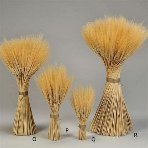 triticum wheat stacks small grande size centerpieces
