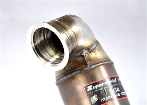 Audi S3 8v Downpipe by Best Exhaust Supersprint Audi S3 8v Quattro Turbo