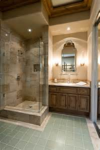 Throughout this bathroom featuring a dual vanity with vessel sinks