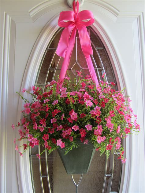 www cheriesforgetmenots com summer door wreath pinterest