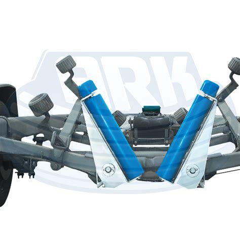spring loaded boat trailer rollers retrieving an offshore boat solo solo boat launching