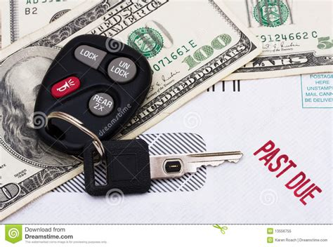 how to make a car payment with a credit card past due car payment royalty free stock photo image