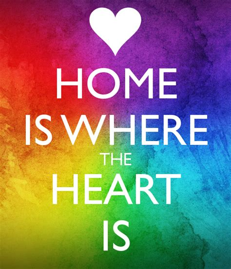 home is where the heart is home is where the heart is poster nikkilondon keep