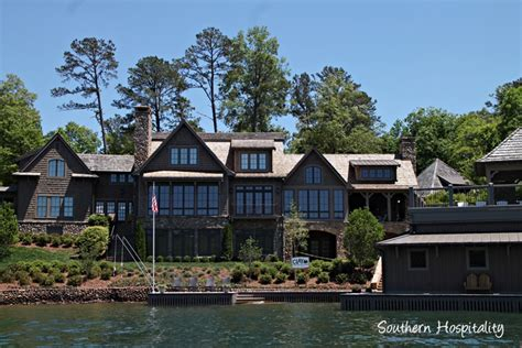 nick saban house lake burton visiting lake burton southern hospitality