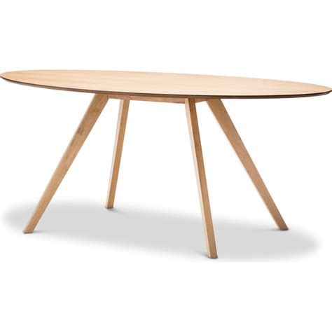 Oak Oval Dining Table Scandinavian Oval Wooden Dining Table In Oak 1800mm Buy Dining Tables