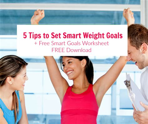 5 weight loss goal 5 tips on how to set weight loss goals