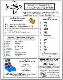 weekly letter to parents template best photos of newsletter examples of grade 1 classroom 9 parent letter templates free sample example format