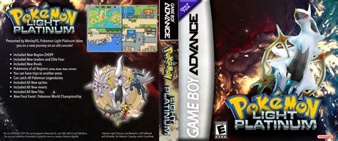 light platinum gba cover by acesul on deviantart