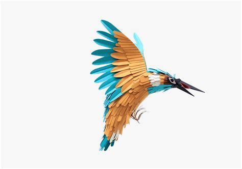 Paper Bird - paper birds by diana beltran herrera