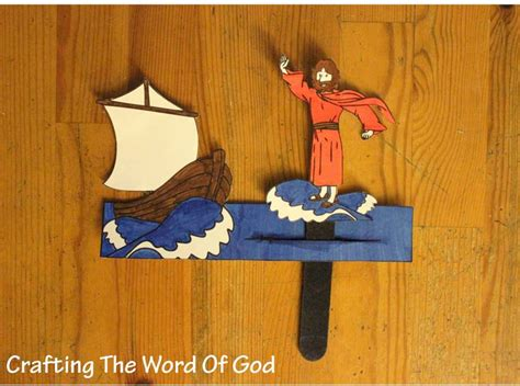 jesus walks on water craft for jesus walks on water 171 crafting the word of god