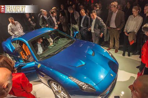 Ferrari Qualit T by Ferrari California T Deutschlandpremiere