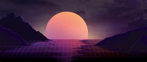 vapor wave sunset hd  wallpaper