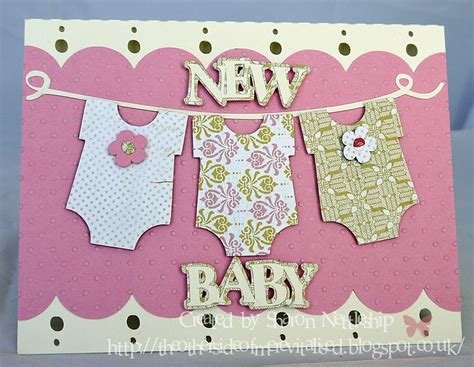 New Baby Handmade Cards - handmade new baby cards papermilldirect