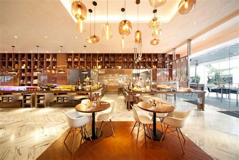 bright  spacious restaurant  designphase dba