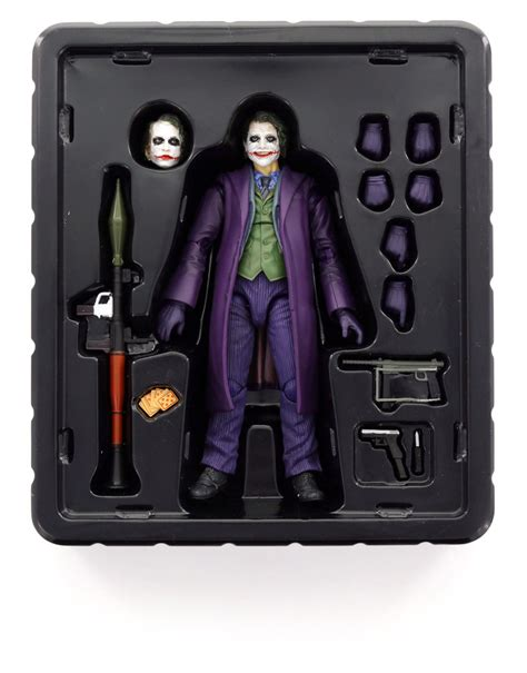 Medicom Mafex Joker Figure medicom mafex 005 joker figure figures sculptures grown up toys gifts
