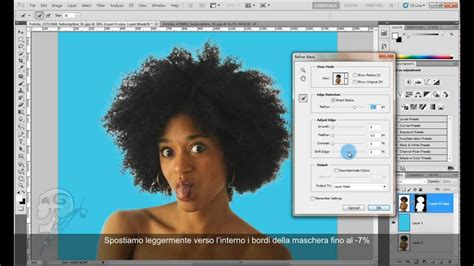 tutorial ngedit foto di photoshop cs5 scontornare capelli complessi con photoshop cs5 youtube