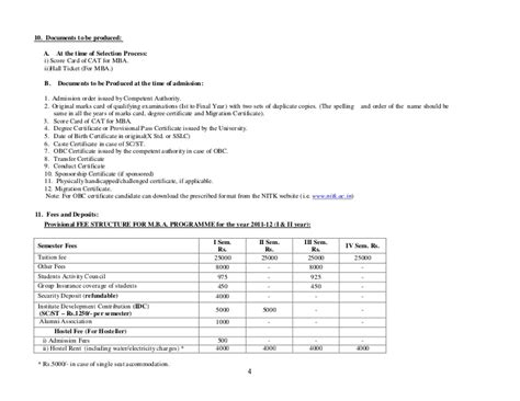 Mba Admission Without Cat by Infor Bullet Mba 2011 12
