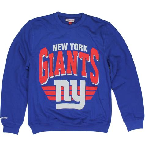 ny giants colors new york giants the stadium crewneck team colors by