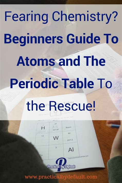 a beginner s guide to the periodic table best 176 homeschool chemistry images on