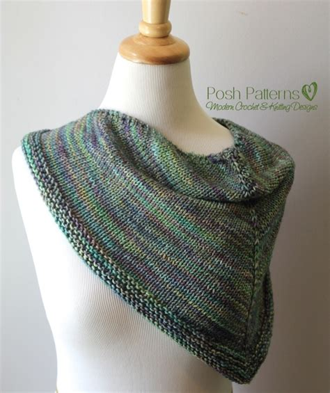 triangle pattern knitting triangle scarf knitting pattern shawl kerchief pattern