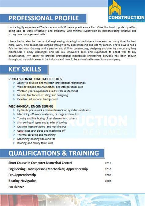 Skill Trade Resume by Skilled Trade Resume 004 Construction Resumes