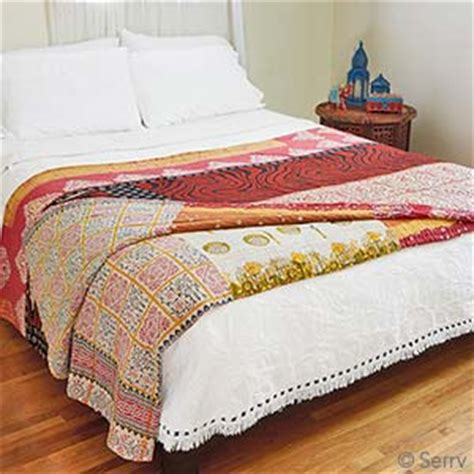 Thro Comforter by Bedding Throws Kantha Quilt