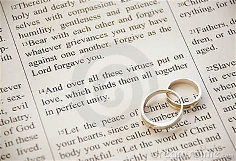 Wedding Ring Kjv by Scripture And Rings Stock Image Image 2322761