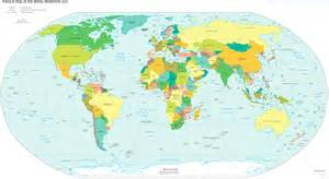 World Map Of Countries by World Large Detailed Political Map Large Detailed