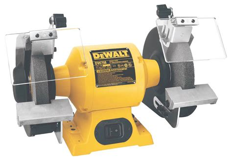 bench gringer dewalt dw758 8 inch bench grinder power bench grinders