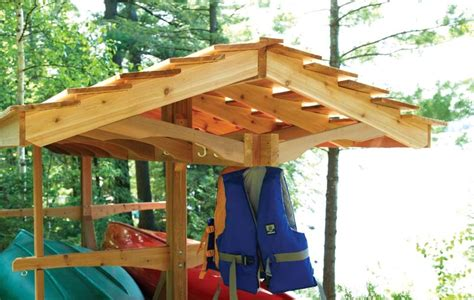 how to build a wooden kayak storage rack plans free