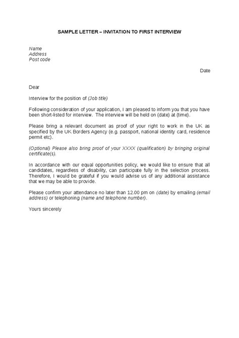 Offer Letter United Kingdom Invitation To Sle Letter Hashdoc