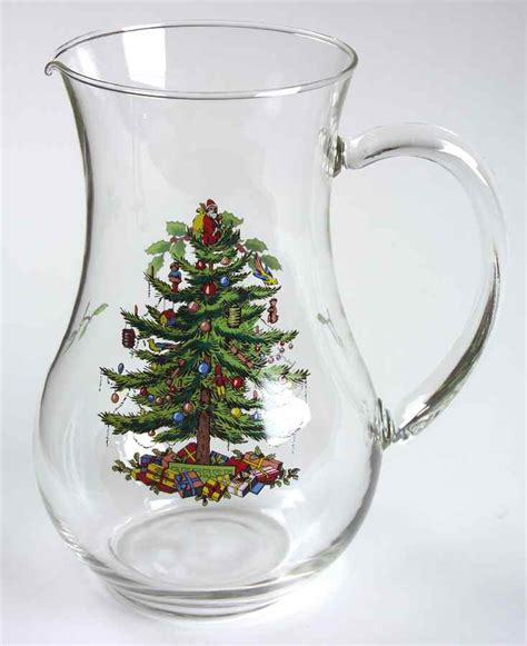 spode tree pitcher spode tree glass pitcher 5548570 ebay