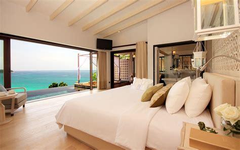 ocean bedrooms bedroom with a great view of the ocean wallpaper
