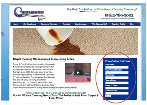 cleaning service leads professional and converting