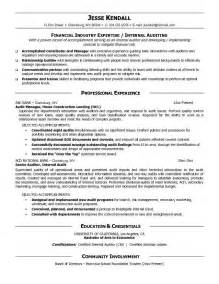 auditor cover letter sle operational auditor cover letter free survey templates