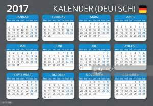 Germany Kalendar 2018 German Calendar 2017 Kalender 2017 Vector