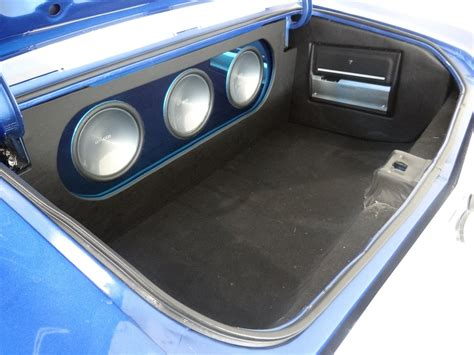 infinity boat radio bluetooth setup 1971 chevrolet chevelle ss clone custom car audio trunk
