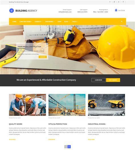 15 Construction Templates For Website Inspiration Self Build Website Templates