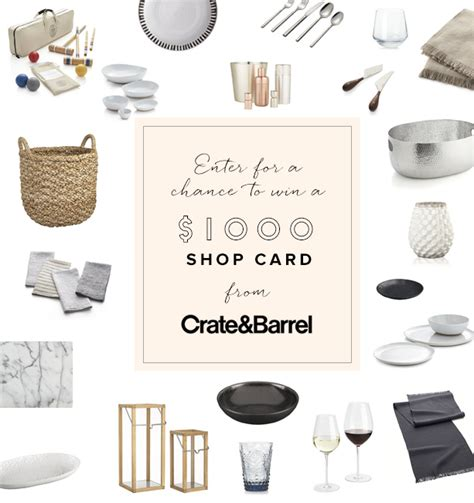 Crate And Barrel Sweepstakes - ros 233 and oysters summer party with crate and barrel a