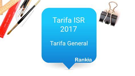 tarifa isr 2016 residentes en el extranjero tarifas y tablas isr 2017 rankia
