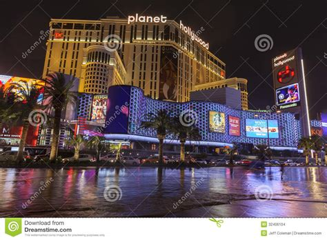 planet hollywood front flooding in front of planet hollywood in las vegas nv on