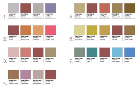 pantone palette 2015 pantone color of the year how to use marsala in your home